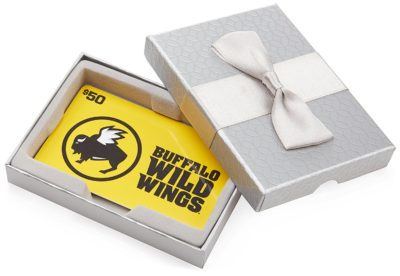 Buffalo Wild Wings Gift Cards – In a Gift Box