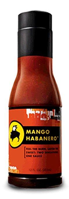 Buffalo Wild Wings Sauce (Mango Habanero) 12 Fl oz