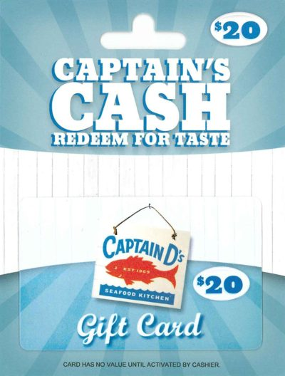 Captain D's Gift Card