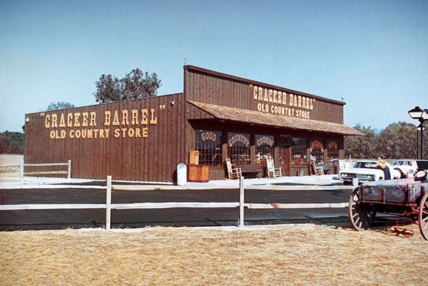 The first Cracker Barrel location
