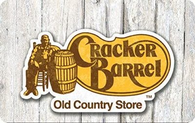 Cracker Barrel Gift Cards – E-mail Delivery