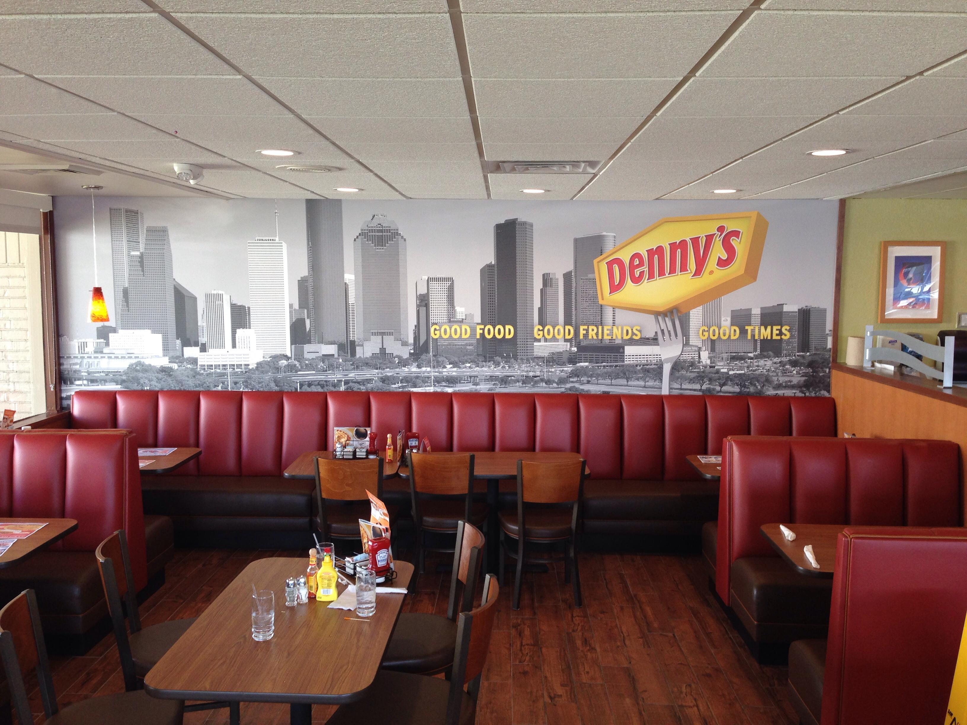 Interior Denny's Restaurant