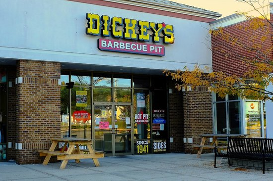 Back of the Menu Dickey's Barbecue Pit Restaurant