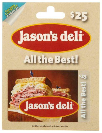 Jason's Deli Gift Card