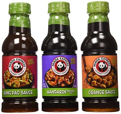 Panda Express, Variety Sauce Package (Pack of 3 Flavors)