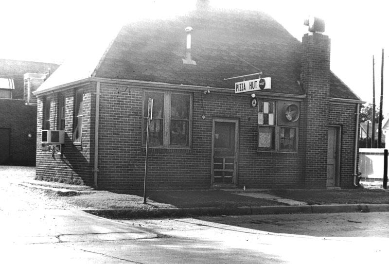 The original Pizza Hut Back of the Menu