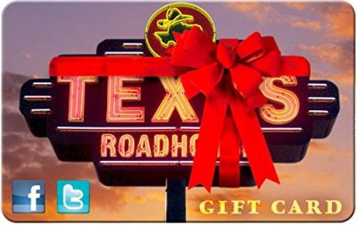 Texas Roadhouse Gift Cards – E-mail Delivery