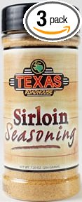Texas Roadhouse Restaurant Seasoning 6.88 – 7.2oz Container (3 Pack)