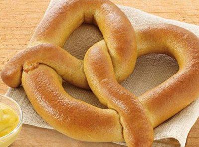 Bakery Authentic Bavarian lightly salted Soft Pretzel, Pack of 10