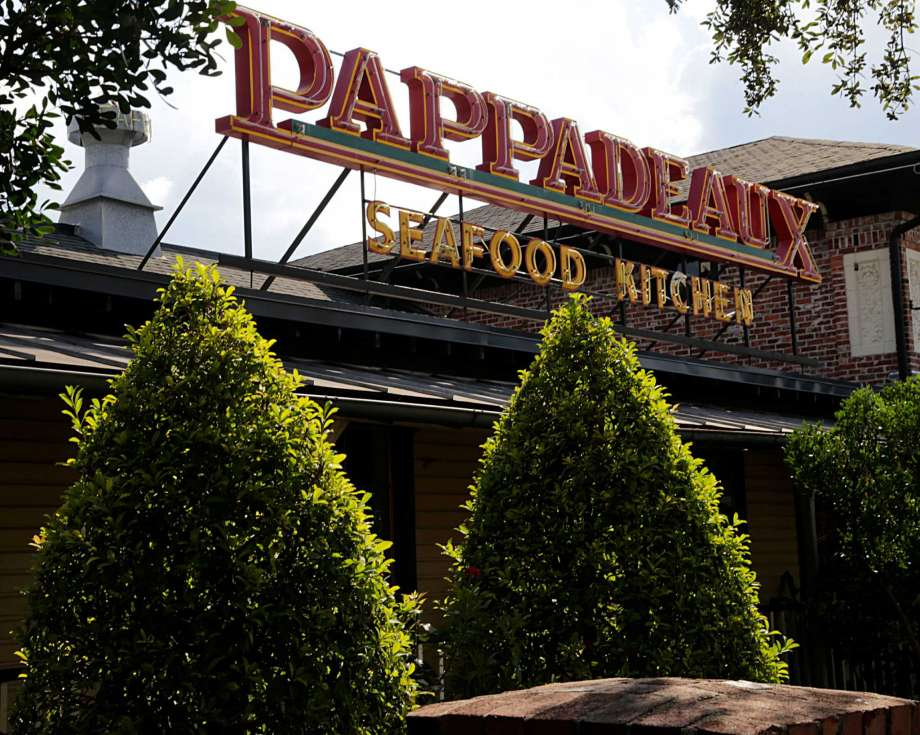 Very First The Original Pappadeaux Seafood Kitchen Back of the Menu