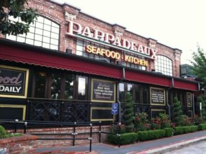 Pappadeaux Seafood Kitchen – Back of the Menu
