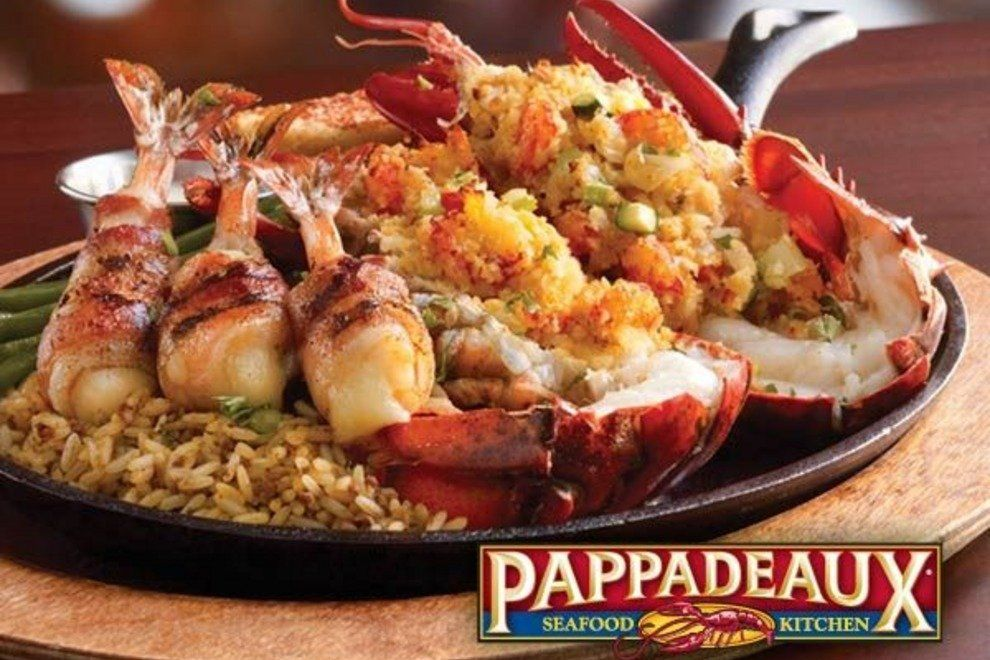 The food at Pappadeauxs Seafood Kitchen Back of the Menu