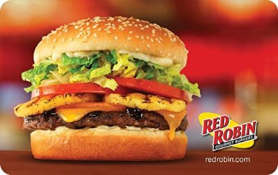 Red Robin Gift Cards – E-mail Delivery