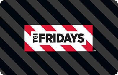 TGI Fridays Gift Cards – E-mail Delivery
