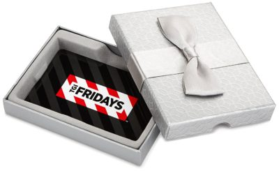 T.G.I. Friday's Gift Cards – In a Gift Box