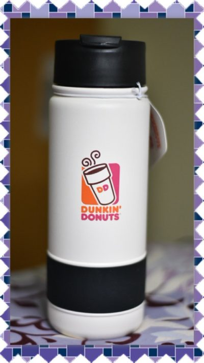Dunkin Donuts 18oz Stainless Coffee Travel Mug Tumbler