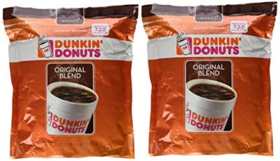 Dunkin' Donuts Original Blend Medium Roast Ground Coffee 40 oz. (Pack of 2)