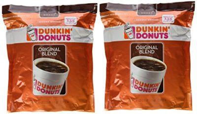 Dunkin' Donuts Original Blend Medium Roast Ground Coffee 40 oz. (Pack of 2)