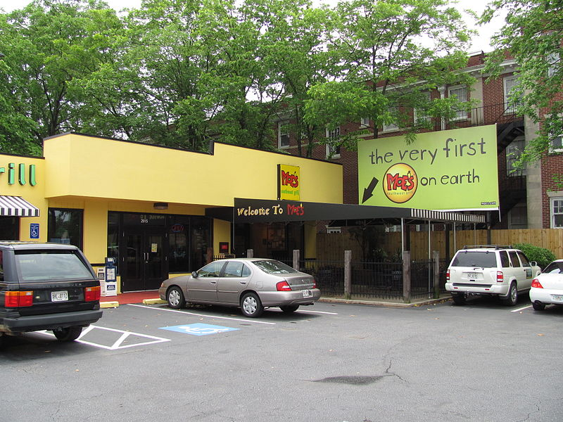 The very first Moe's Southwest Grill