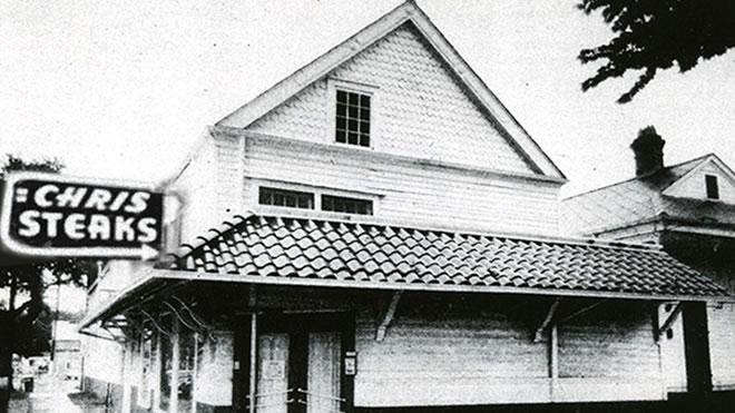 The first Ruth's Chris Steak House