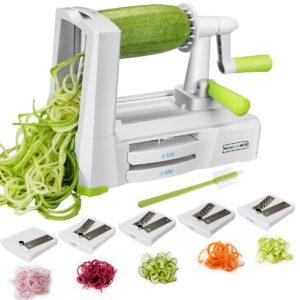 5-Blade Spiralizer Vegetable Spiral Slicer