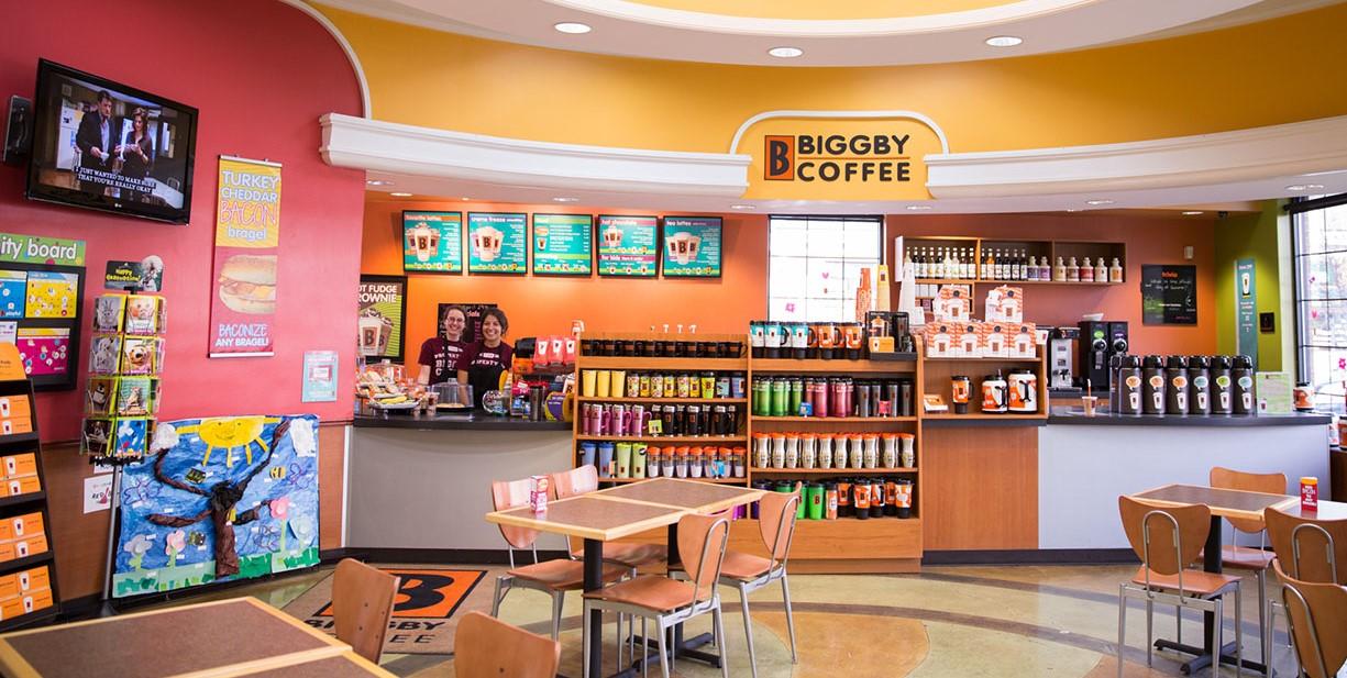 Interior Biggby Coffee