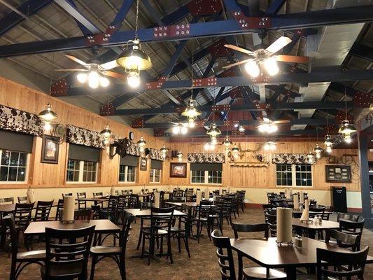 The inside of a Bill Miller Bar-B-Q