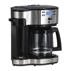 Hamilton Beach Single Serve and Coffee Pot, Programmable