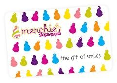 Menchie's Frozen Yogurt Gift Card
