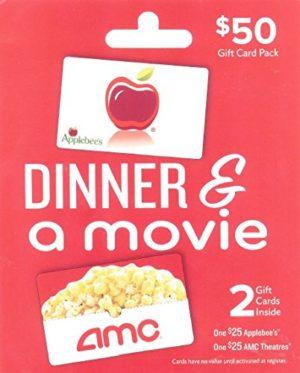 Applebee's – AMC Dinner & A Movie, Multipack of 2