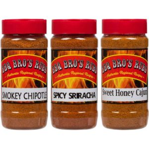 BBQ BROS RUBS {Sweet, Smokey, & Spicy Style }