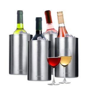 Secura 4 Pieces Wine Cooler Bucket Set