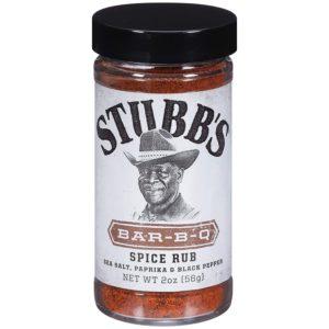 Stubb's Bar-B-Q Spice Rub (Pack of 6)