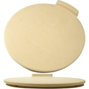 The Ultimate 16″ Round Pizza & Bread Stone on Oven & Grill