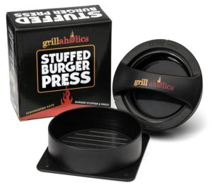 Grillaholics Stuffed Burger Press and Recipe eBook