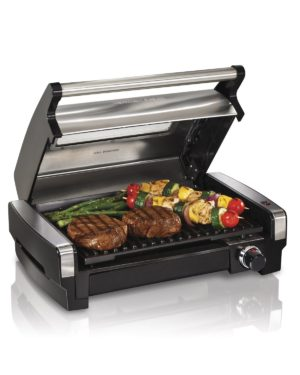 Hamilton Beach Electric Smokeless Indoor Grill & Searing Grill