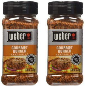 Weber Gourmet Burger Seasoning – 2 Pack