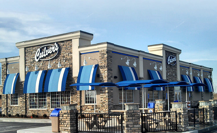 Culver's Back of the Menu