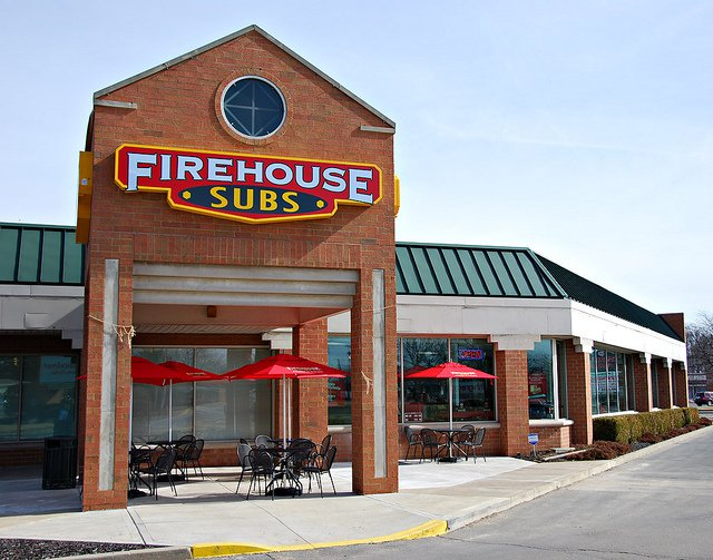 Firehouse Subs Back of the Menu
