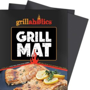 Grillaholics Grill Mat – Set of 2