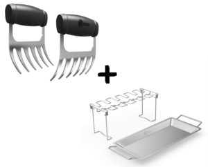 Meat Claws – Stainless Steel Pulled Pork Shredders