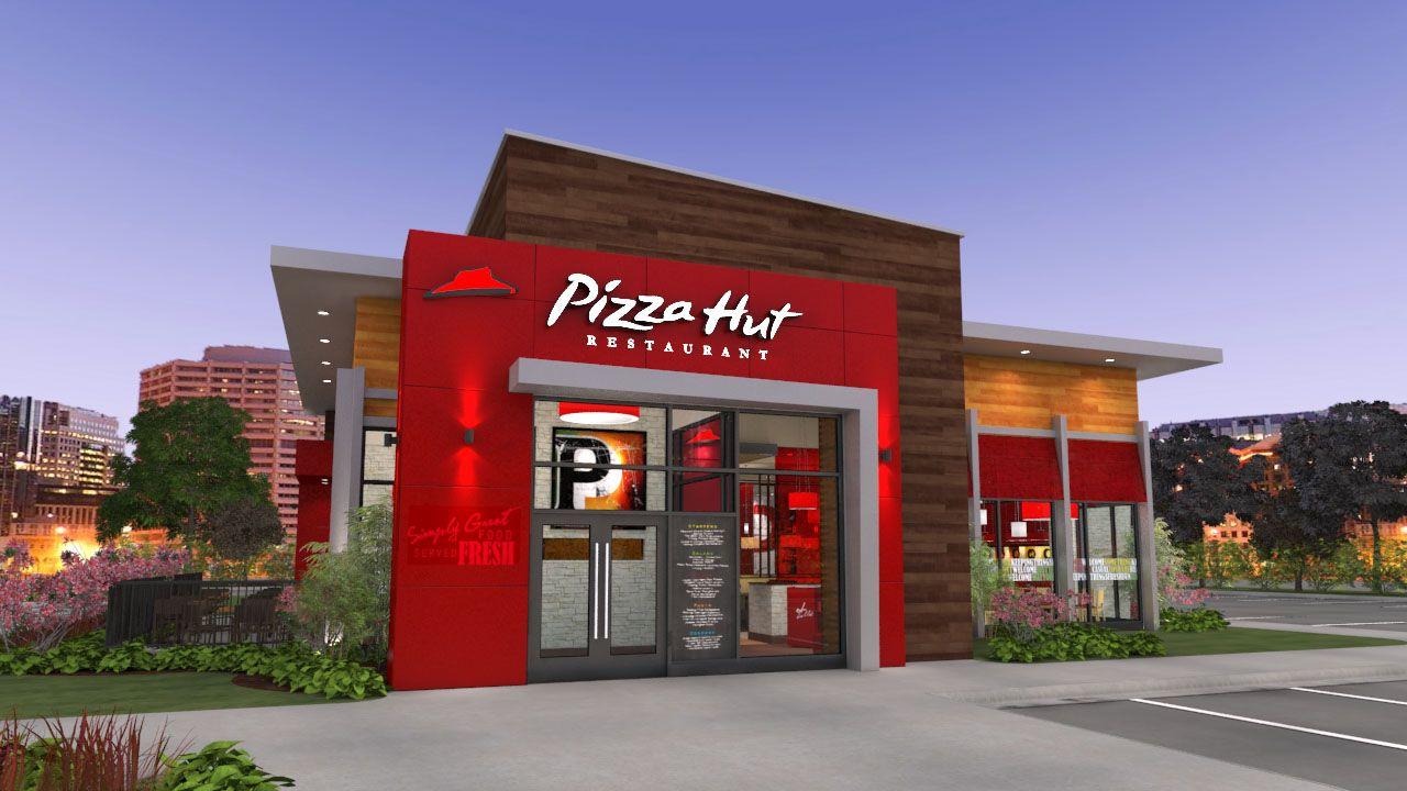 Pizza Hut Back of the Menu