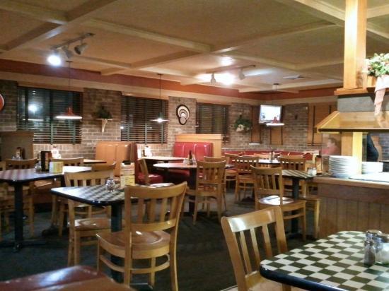 Interior Pizza Hut - Back of the Menu.com