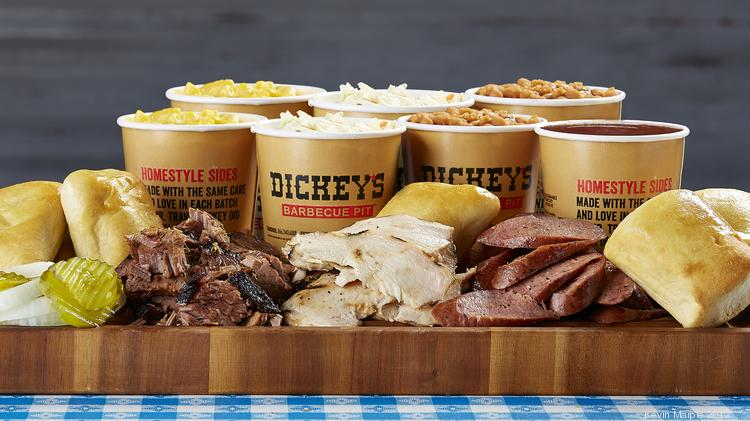 Back of the Menu Dickey's Barbecue