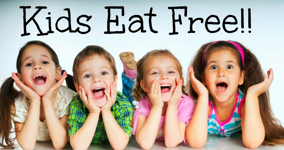 Kids Eat Free Back of the Menu