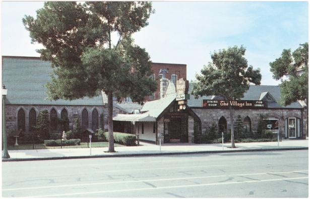 Back of the Menu Original Village Inn